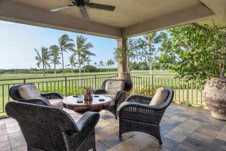 Ocean view Fairway Villa 110D Hualalai- near beach- golf, amenities access - Image 1 - Kohala Coast - rentals