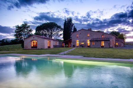 Villa Montesoli, Luxurious Tuscan Villa - Relax in the Sauna, Jacuzzi & Pool - Image 1 - Siena - rentals