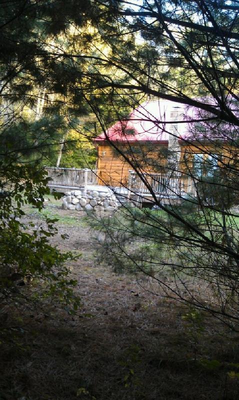 From hiking trail in backyard - Lake Luzerne Vacation Rental sleeps 6 - Lake Luzerne - rentals