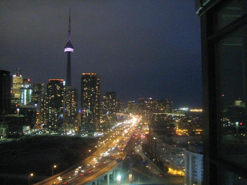 View from Balcony - Luxury  Condo over the skies of Toronto! spectacular Downtown and Lake views - Toronto - rentals