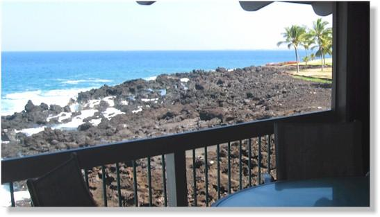 Kanaloa at Kona 1703 2 bedroom + loft oceanfront - Image 1 - Kailua-Kona - rentals