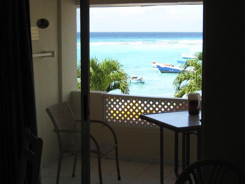 Studio apt. with ocean view (high demand location) - Image 1 - Christ Church - rentals