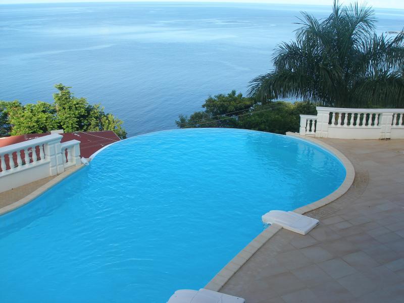 infinity edge pool - el dorado dominica - Roseau - rentals