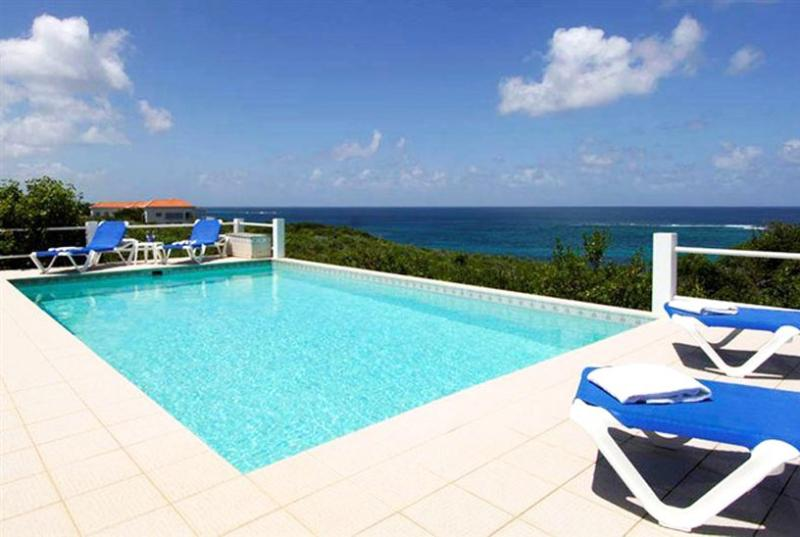 Anguilla Villa 56 The Pool Area And Gallery Offer Fabulous Ocean Views And Magnificent Sunsets. - Image 1 - Long Bay Village - rentals
