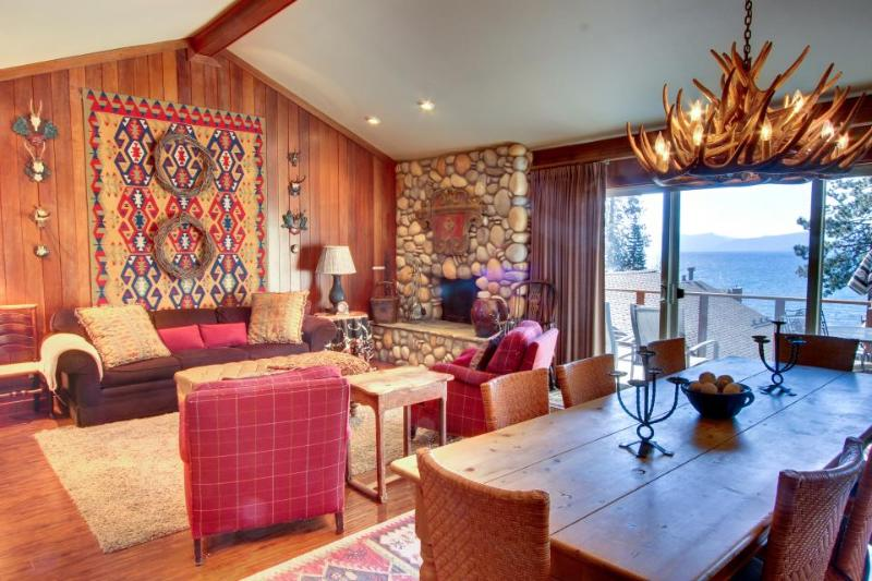 Warm, lakefront home with room for 8 - Image 1 - Kings Beach - rentals