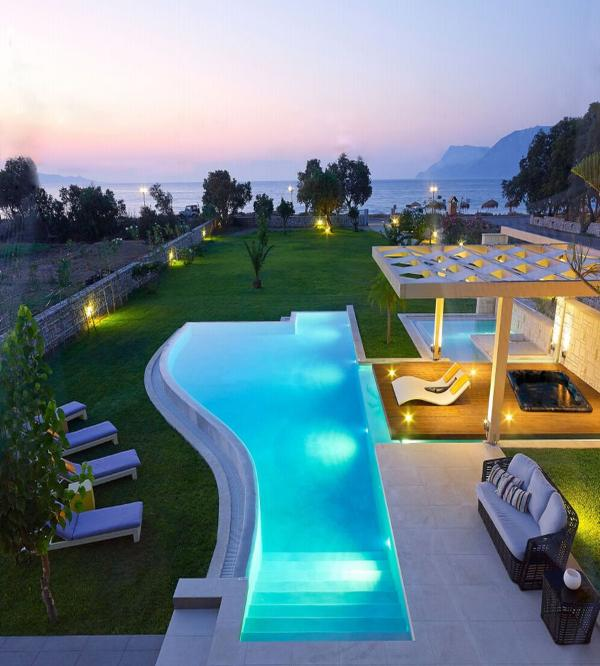 Relaxation and luxury with infinite sea views only 50 meters from the sea - Villa Elvina, only 50 Meters From The Sea, Luxury Villa, Amazing Seaviews - Drapanias - rentals
