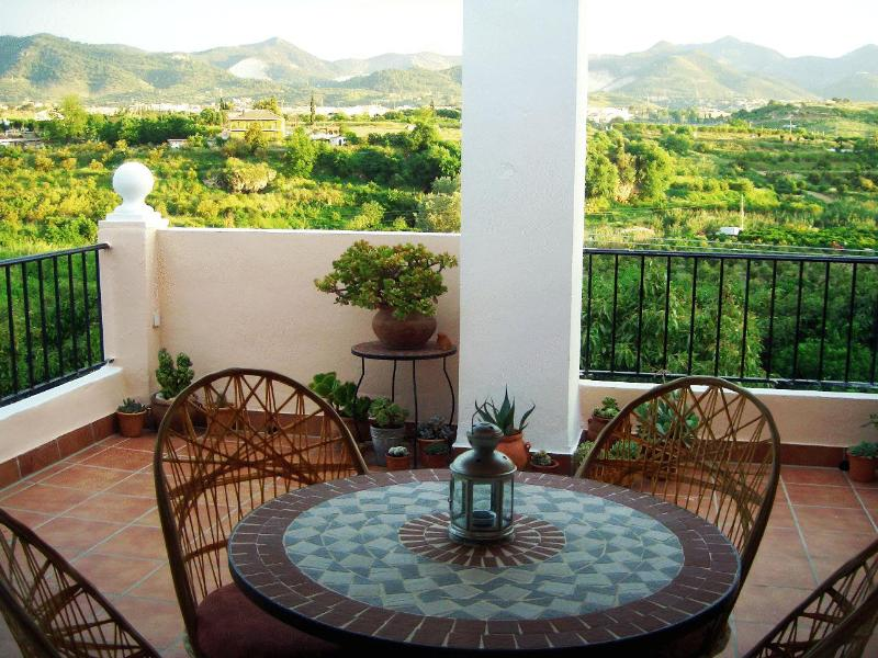 Terrace - Spacious and bright apartment in spanish villa with panoramic views - Alhaurin de la Torre - rentals