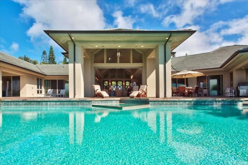 Pool - Avalon by the Sea, LUXURY VILLA  in Kapalua Maui - Kapalua - rentals