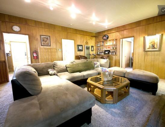 Living room that will comfort all your family - Big Bear city 3bdr CABIN RENTAL #1 cozy cabin BEST - Big Bear Lake - rentals