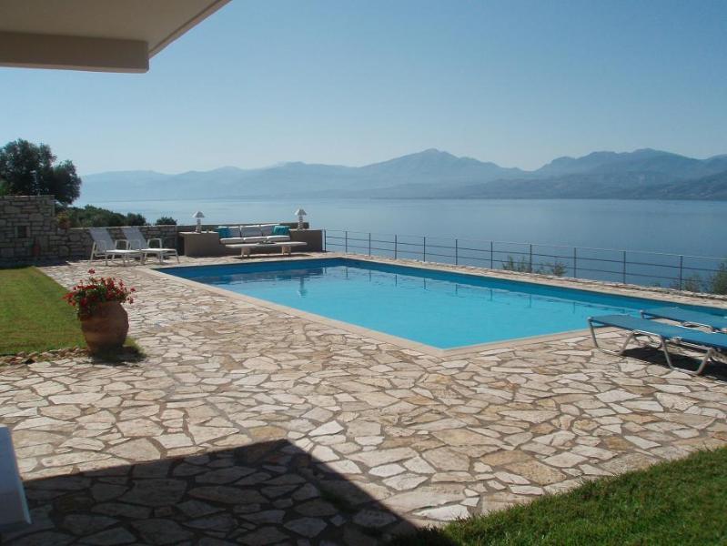 Villa's Swimming pool - Villa Art 1 - Nafpaktos - rentals