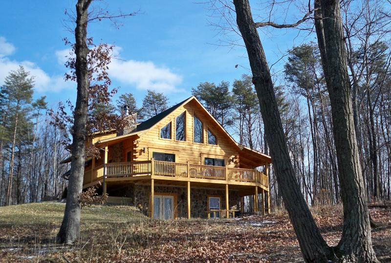 Front - Exquisite True Log Cabin/Chalet Rental - Berkeley Springs - rentals
