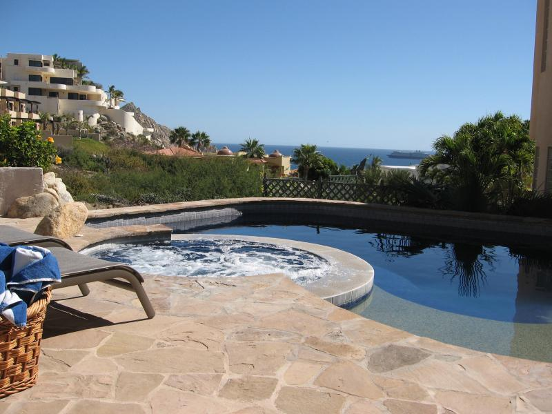 Our private pool and spa - Luxurious Villa los Amigos - Cabo San Lucas - rentals