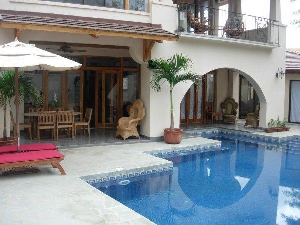 pool and porch view - Casa Wasabi 3bedroom/3bathroom - Tamarindo - rentals