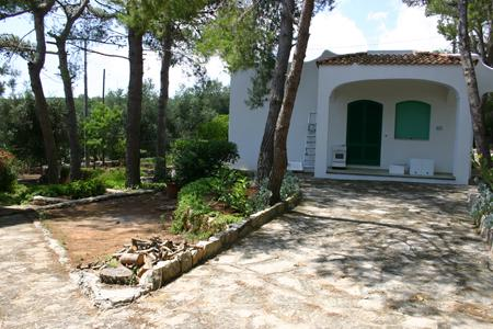 Chicca - view of the house - 10% discount for min 2weeks rental - Seaside house in Salento - Marina Serra - rentals