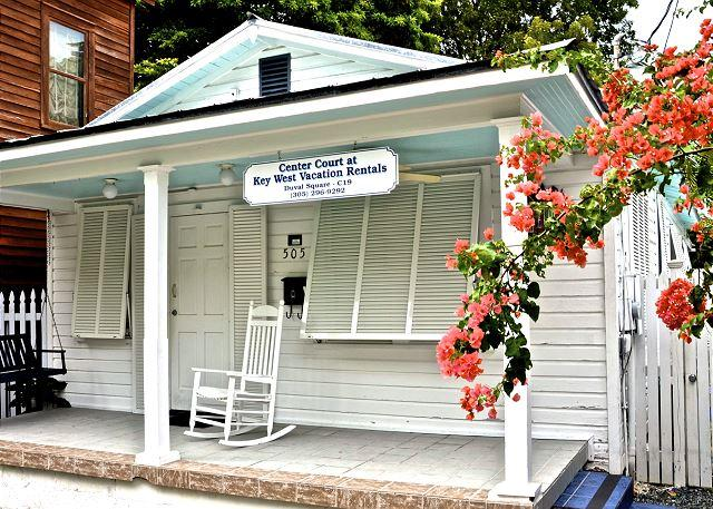 """With Three Bedrooms This Quaint Home is Sure to Delight! - """"AMELIA HOUSE"""" - Private Hot Tub - Half Block To Duval St - Sleeps 8! - Key West - rentals"""