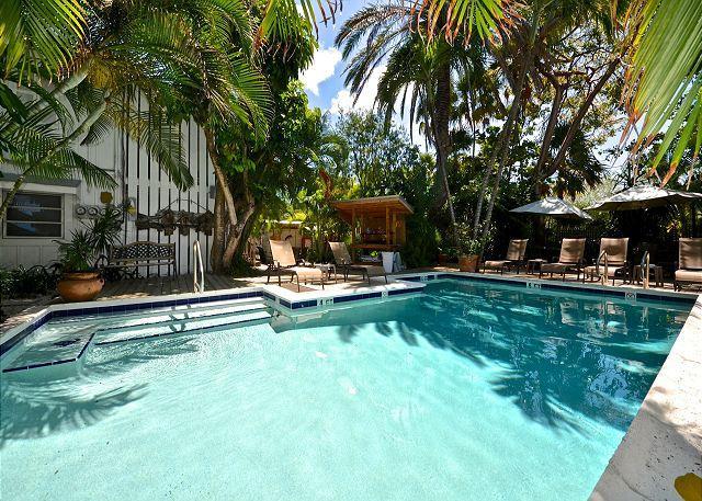 """TORRENTS OF SPRING"" - Papa`s Hideaway Historic Inn - Deluxe Studio (2nd Flr) - Image 1 - Key West - rentals"