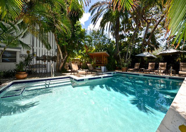 """""""FOR WHOM THE BELL TOLLS"""" - Papas Hideaway's Deluxe Studio 3, Shared Pool - Image 1 - Key West - rentals"""