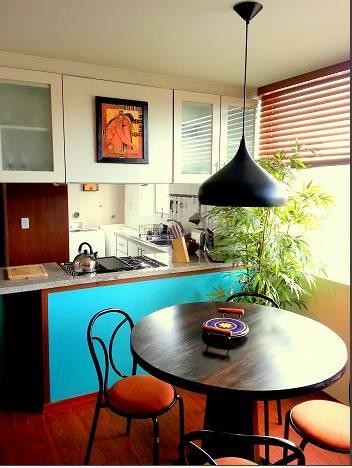 dining room - Beautiful Design Suite Tamayo la Mariscal Quito - Quito - rentals