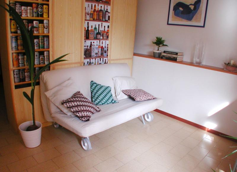 Livingroom. Sitting is for 10-12 - TERRAZZA SAN VITALE  – Central, Roomy, Own Garage, Huge Terrace - Bologna - rentals