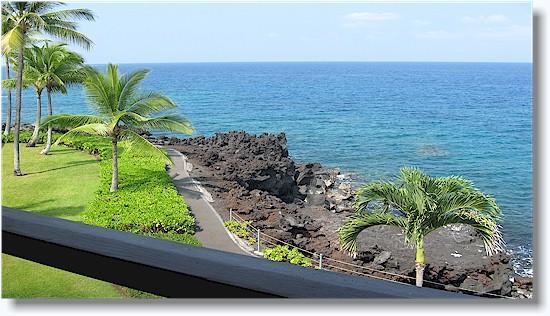 Surf & Racquet Club 3-302 3 bdrm  oceanfront - Image 1 - Kailua-Kona - rentals