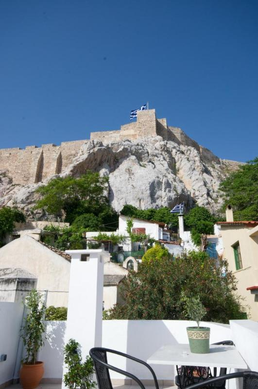 View of the Acropolis from the roof - In the shadow of Acropolis - Athens - rentals