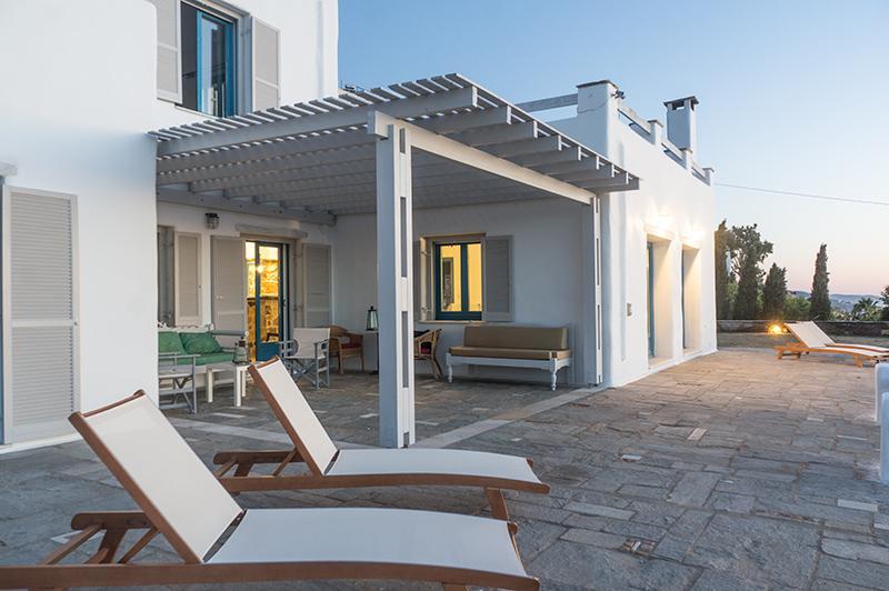 Enjoy the unique view of the port of Paros in a luxury villa - Exclusive 5 br villa with private pool in Paros - Parikia - rentals