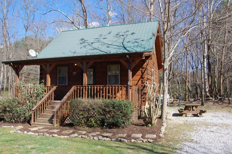 "Jons Pond Cabin on Cosby Creek - Smoky Mountain Creek ""JONS POND"" cabin - Cosby - rentals"