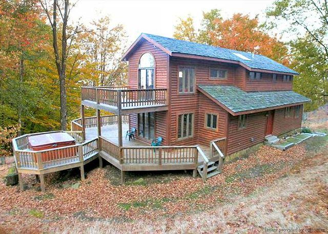 Peace, quiet and a marked hiking trail to the  is good! - Image 1 - Davis - rentals