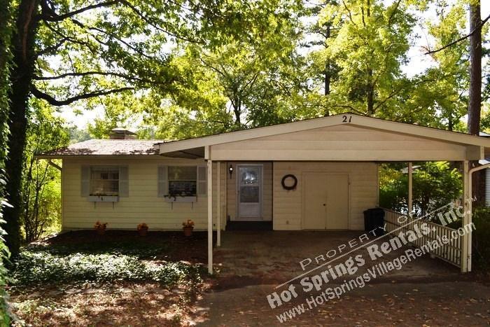 Front - 21SpegWy | Lake DeSoto | Home | Sleeps 4 - Hot Springs Village - rentals