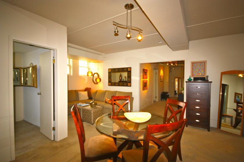 open concept living dining & kitchen - Class & Comfort  Exceeds Expectations ! - Saskatoon - rentals