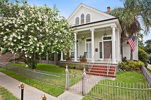 exterior - Turn-of-century Historic house - New Orleans - rentals