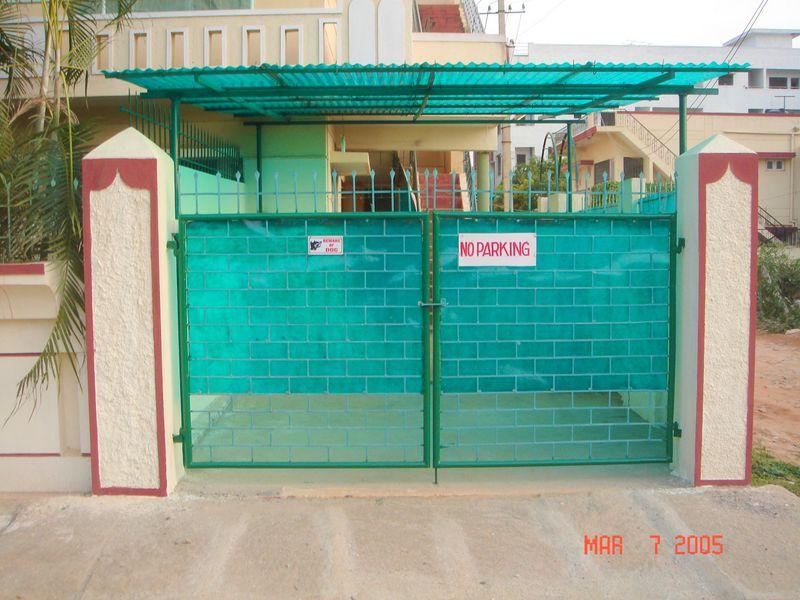 Entrance to the house - Rental of one full house with space for 4 peope. - Bangalore - rentals