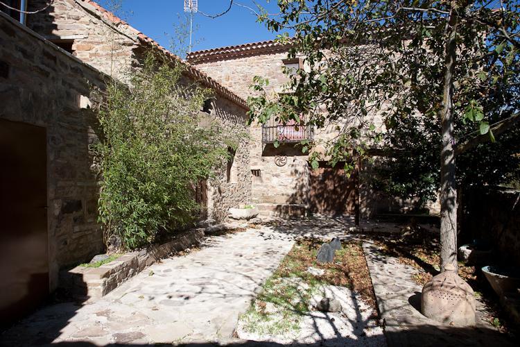 courtyard - XVII Century Manor in Old Castille village - Guijuelo - rentals