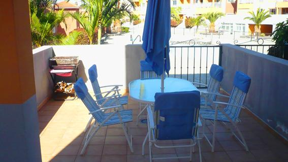 TERRACE - Apartment To 5 Meters Pool In Tenerife, 20 Minutes - Santa Cruz de Tenerife - rentals