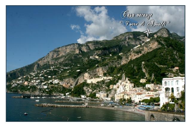 Veduta di Amalfi - Torretta di Amalfi - Apartment for 2/3 people in Amalfi - Amalfi - rentals