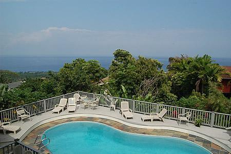 View to the left from the house. - 5 Bedroom Pool Home Mini Estate - Kailua-Kona - rentals