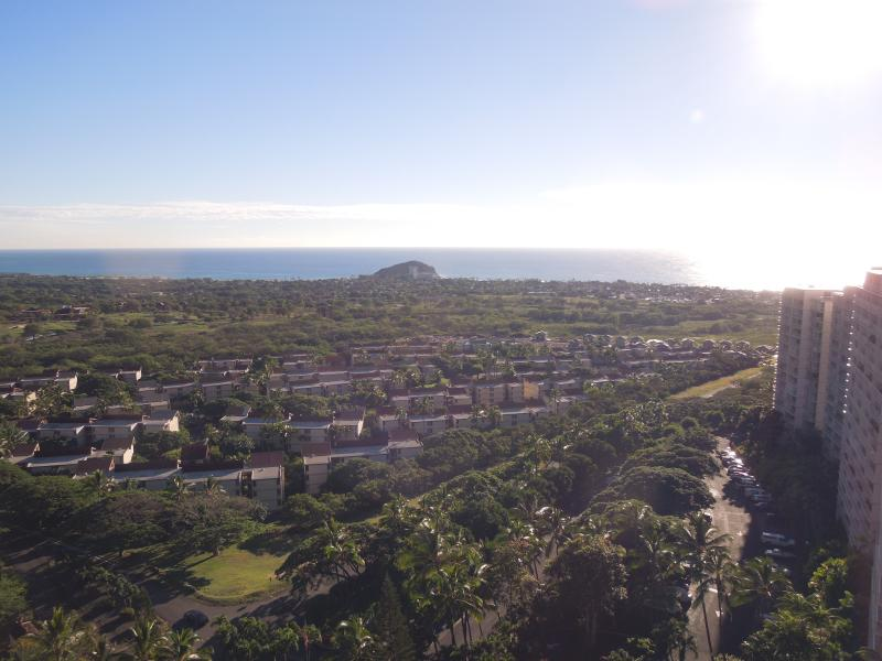 Panoramic ocean view from my lanai - Panoramic Ocean views 16th Floor - Makaha - rentals