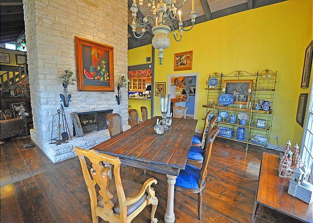 Dining Room - 5BR/3BA Dripping Springs Ranch 300 Acres Barton Creek - Dripping Springs - rentals