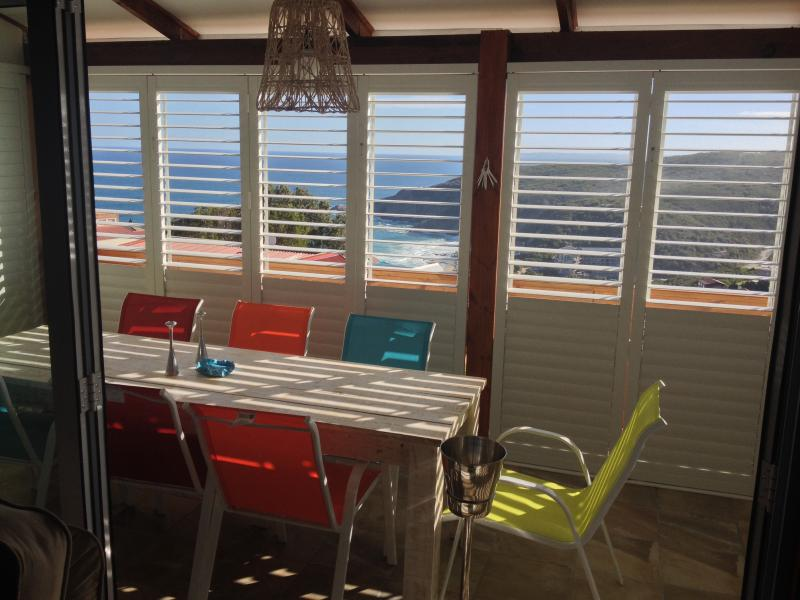 The patio - Luxury Herolds Bay Cottage - Scenic, Sea & Golf - George - rentals