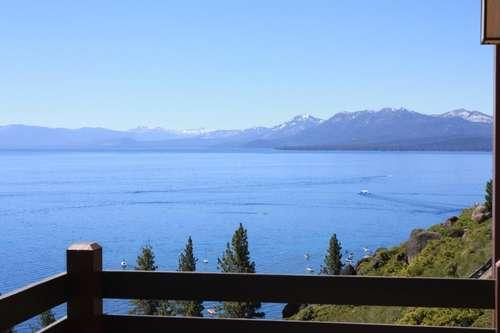 breathtaking view of the the entire lake from the deck - Janes Lakeview - Tahoe City - rentals