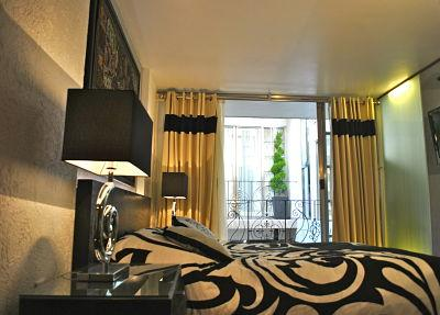 Queen size bed - Business Suite BLACK near Reforma Avenue - Mexico City - rentals