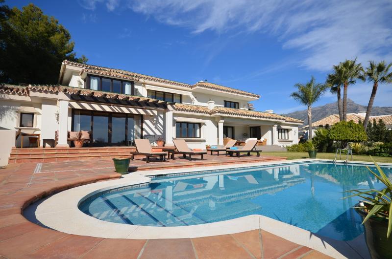 Rear Facada - **Private Luxury Villa**  Marbella, Puerto Banus - Marbella - rentals