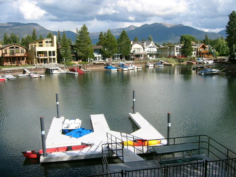 View of Dock & Watercraft - Spectacular Waterfront Home - Heavenly Views - Dock - Hot Tub - Pool Table - South Lake Tahoe - rentals