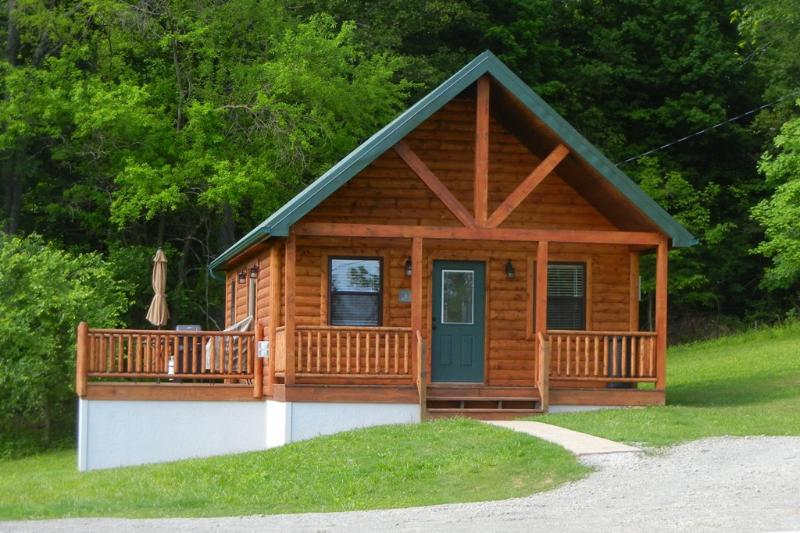 Cabin tucked into the trees - Antler Ridge Cabin in Southeastern Ohio - Chesterhill - rentals