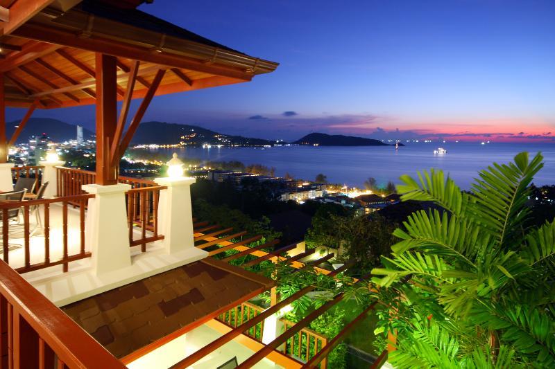 Terrace view - X2-Aranda, L'Orchidee Residences - Patong - rentals
