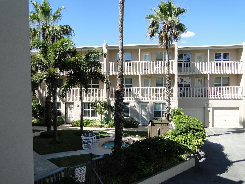 Back view of property from balcony - SPI Pre Summer Sale! - South Padre Island - rentals