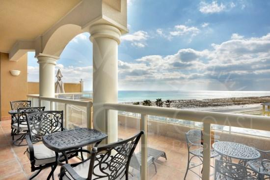 Gulf-Viewing Terrace Suite at Portofino Resort - Image 1 - Pensacola Beach - rentals