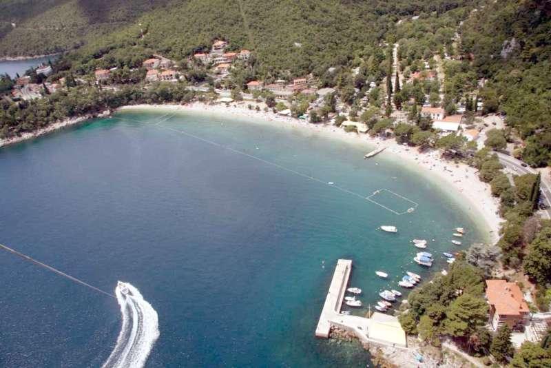 Medveja with beach - Apartment Alba Medveja Lovran Opatija - Lovran - rentals