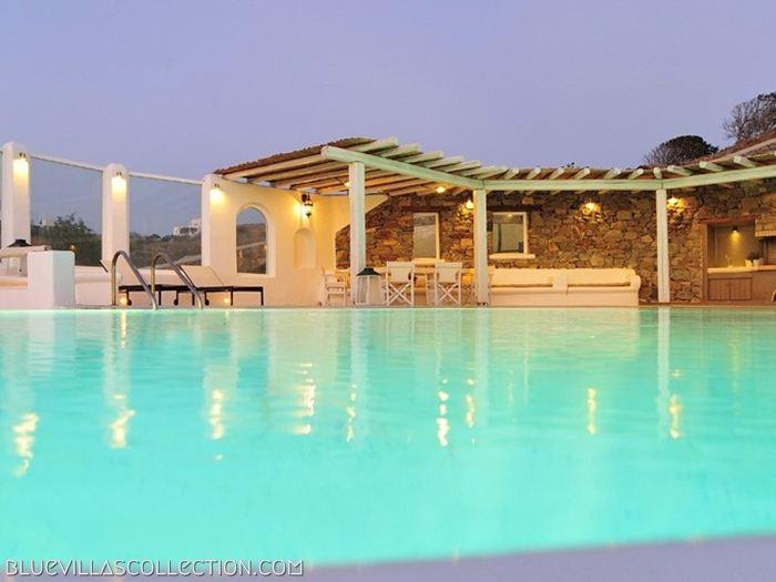Terpsichore - Luxury villa near famous Ornos beach - Image 1 - Ornos - rentals
