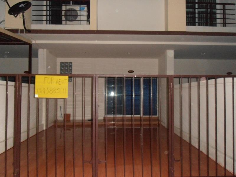 In front of house - Townhouse 3 bedroom 2 bathroom full furniture  3 air 2 water heater, - Chonburi Province - rentals